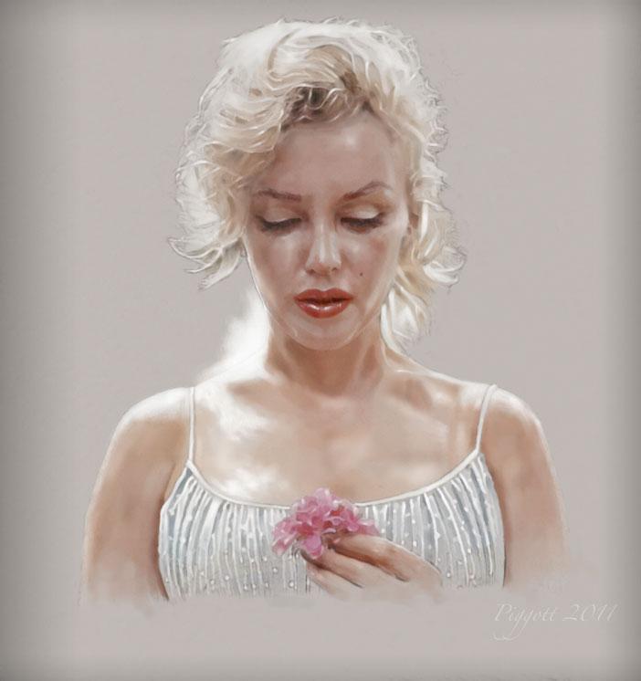 Marilyn Monroe by GeraldPiggott