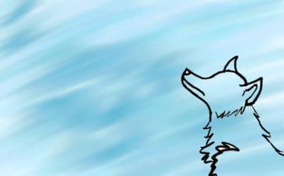 Dakota Wolf In The Sky by PrincessSeddie