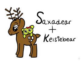 Saxadear And Kelsiebear by PrincessSeddie