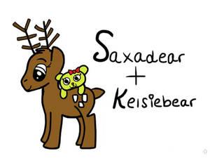 Saxadear And Kelsiebear