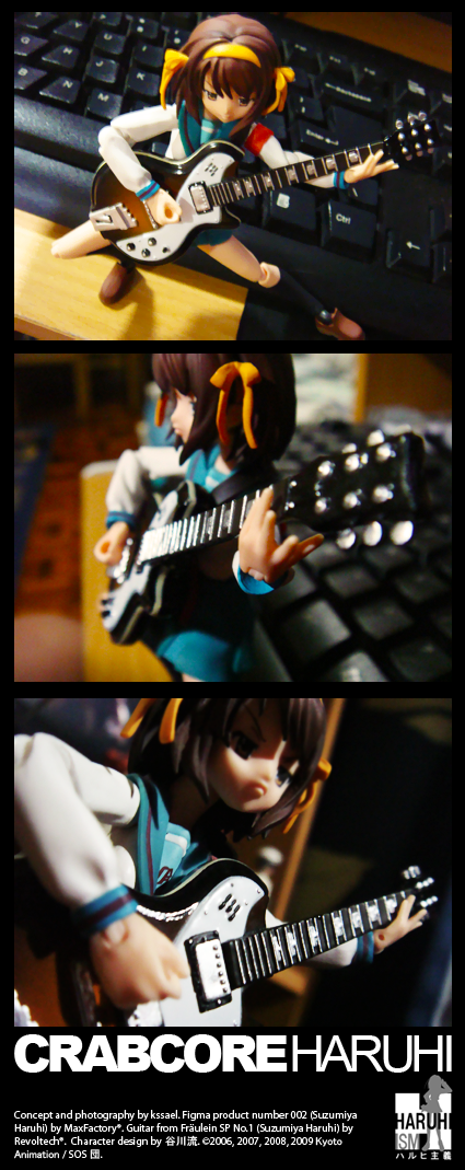 CRABCORE Haruhi by kssael