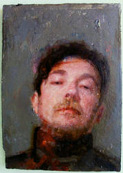 Mensur Self Portrait by paulrichardjames