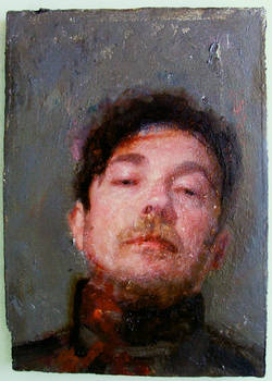 Mensur Self Portrait