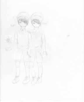 [Sketchy-Doodles] Aspen and Leaf