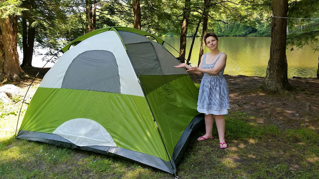 Camping Tent by wondergirl100
