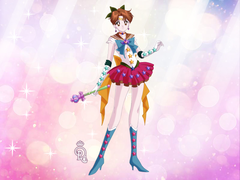 Portrait of Myself: Sailor Sunset by wondergirl100