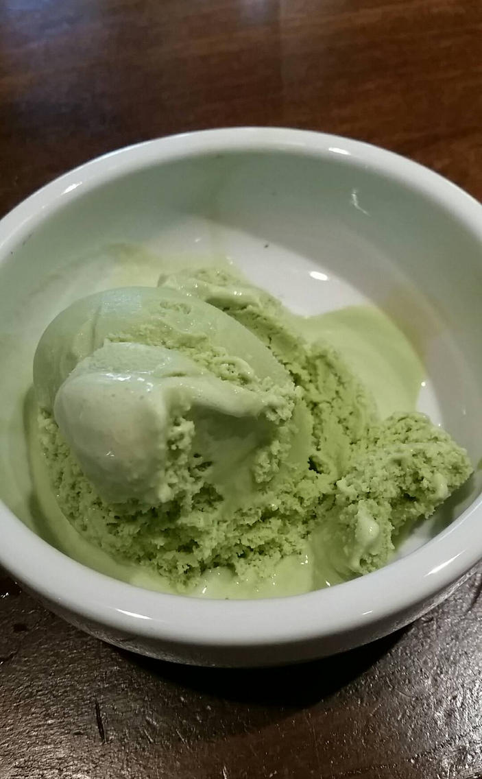 Green Tea Ice Cream by wondergirl100