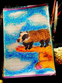 smol badger
