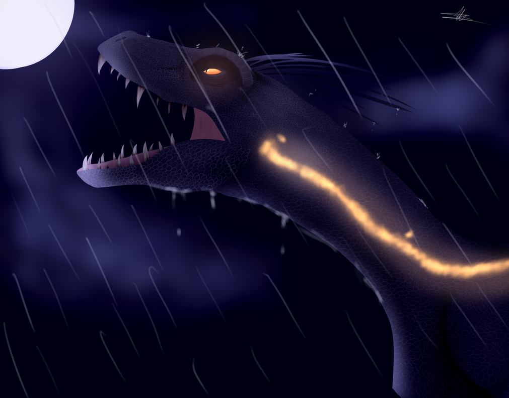 Indoraptor by Alexiaf13