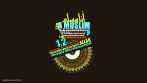 I am a Muslim - wallpaper by NoraAlgalad