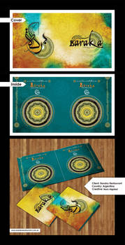 Baraka Restaurant Brochure