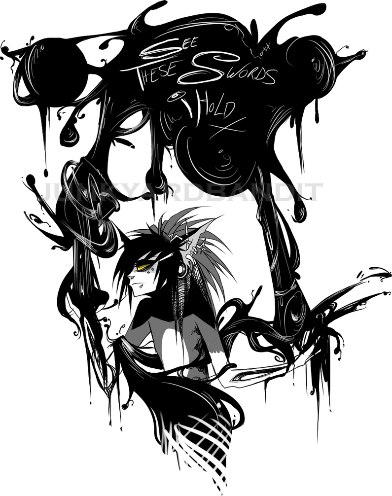 Ink by junkyardbandit