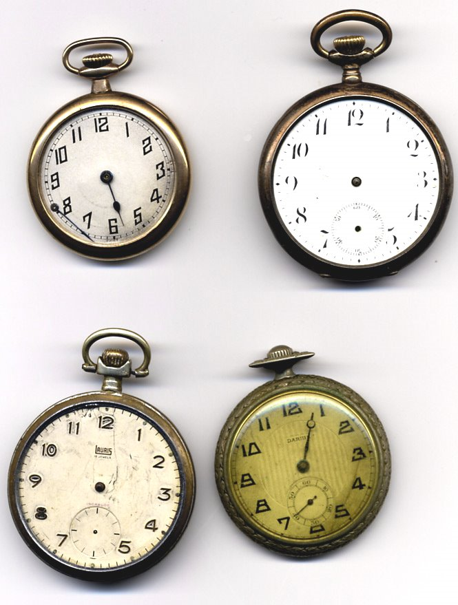 Pocket watch stock by rustymermaid-stock