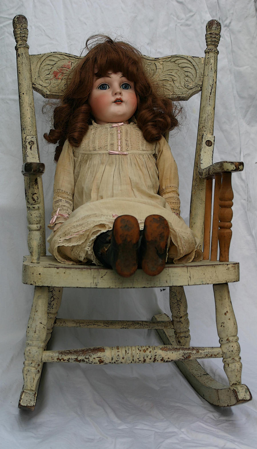Antique doll stock 2