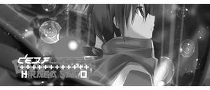 Hiraga Saito Tag BLACK AND WHITE