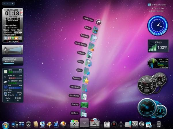 Mac OSX Theme For Windows by wallybescotty