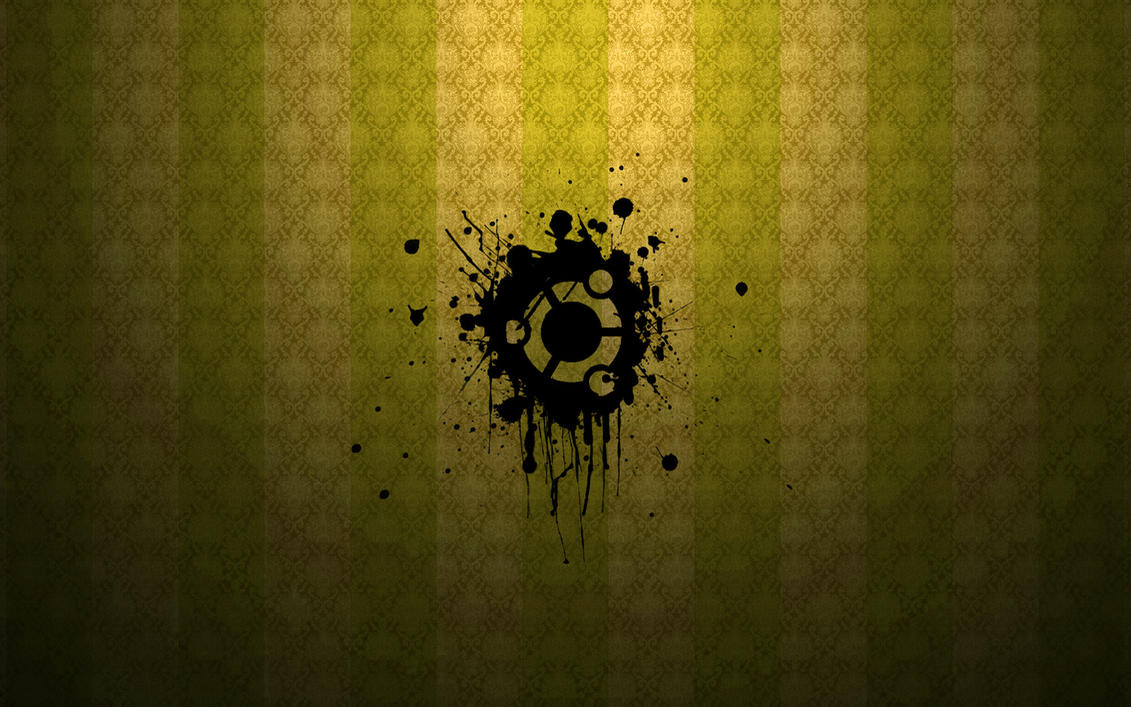 Ubuntu Splatter by wallybescotty
