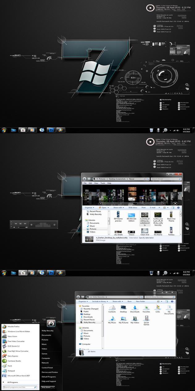Windows 7 Tech by wallybescotty