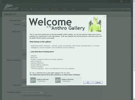 Gallery Welcome Concept by Davecheesefish