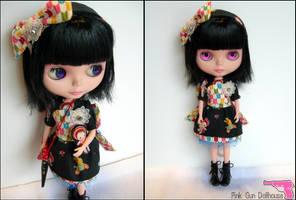 Blythe Bunka Princess by liveloveburndie