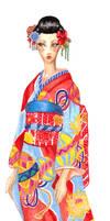 Kimono by liveloveburndie