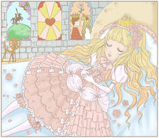 Sleep Well My Beauty by liveloveburndie