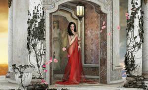 Eva Green Ancient Scene by FaceGenerator