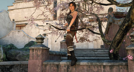 Tomb Raider at sunrise