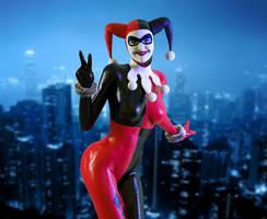 Harley Quinn by FaceGenerator
