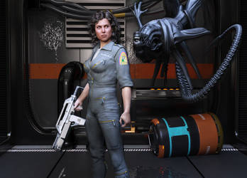 Alien Surprise by FaceGenerator
