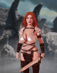 Red Sonja by FaceGenerator