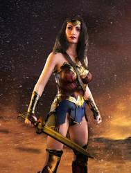 Wonder Woman by FaceGenerator