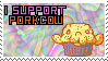 Porkcow Stamp by Hekima