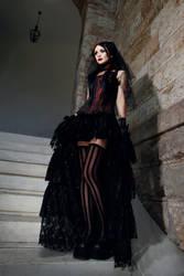 Bride In Black Veil