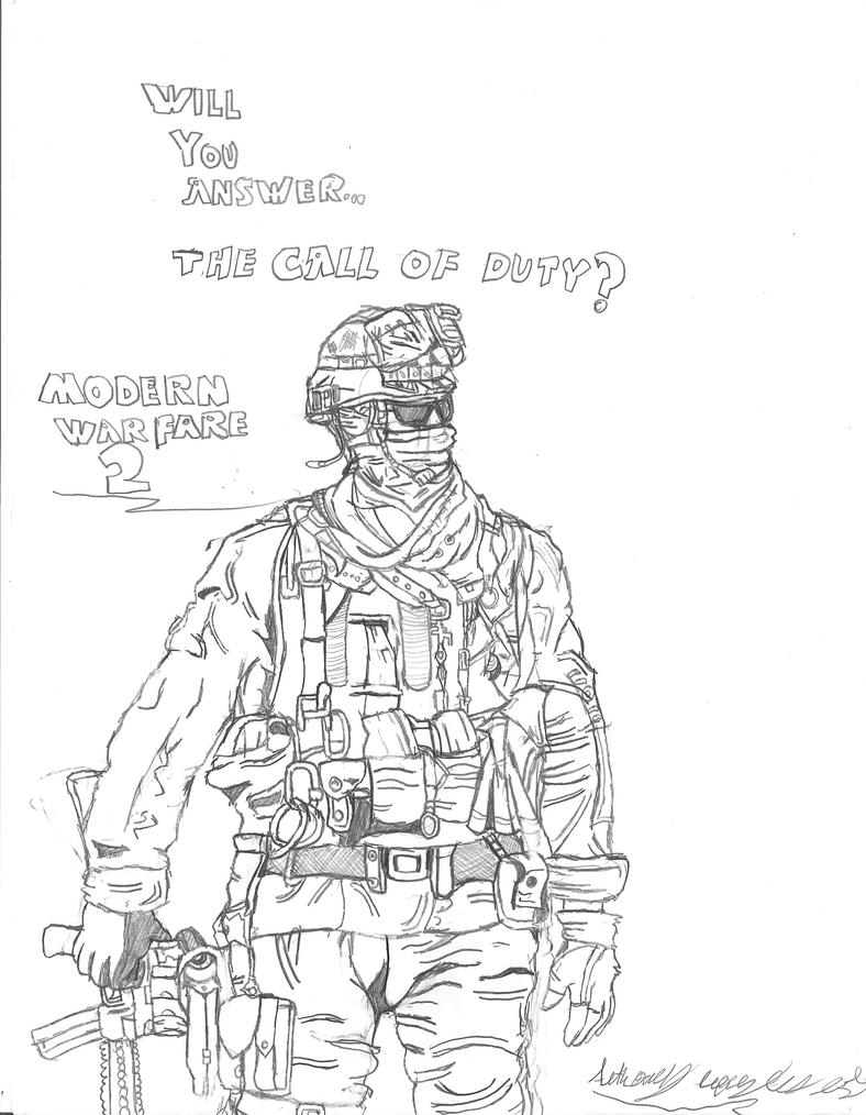 The call of duty by hotfeet444 on deviantart for Call of duty coloring page