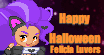 Felicia Luvers Halloween Icon by Hotfeet444