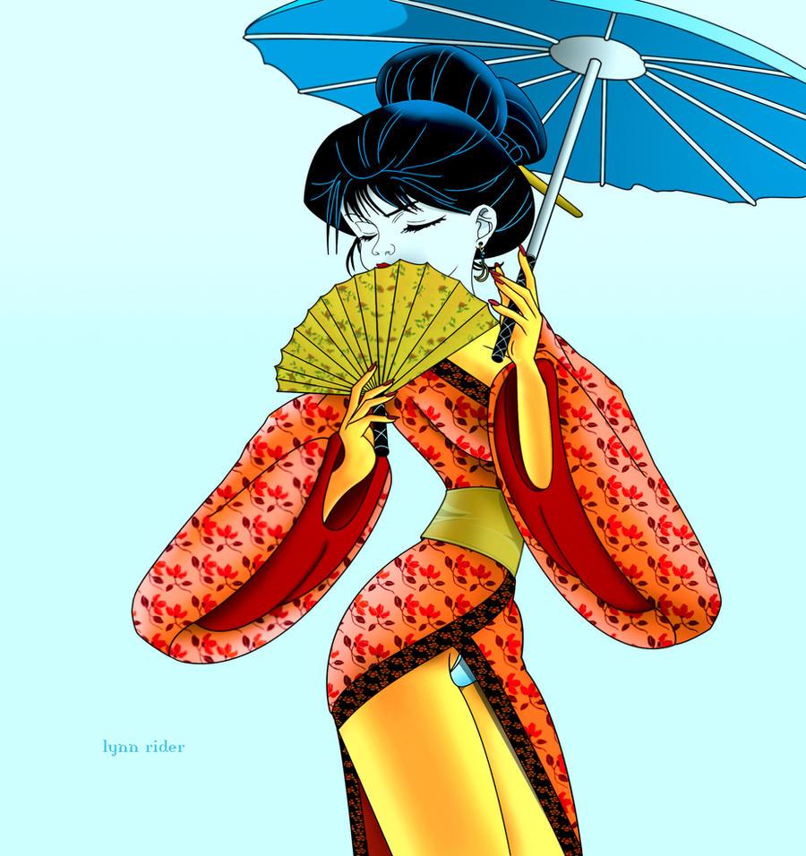 geisha girl by eddielynn