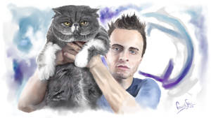 Squeezie and Jumbo by FaustSky