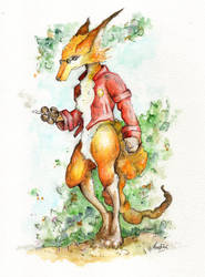 Foxanoid by FaustSky