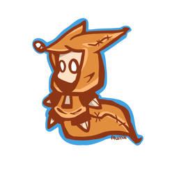 I AM A FOX, I SWEAR - Sticker design by FaustSky