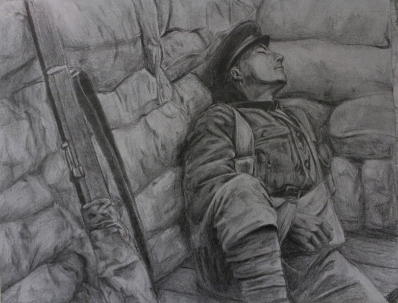 sleeping soldier by Bigbrotherlee on DeviantArt