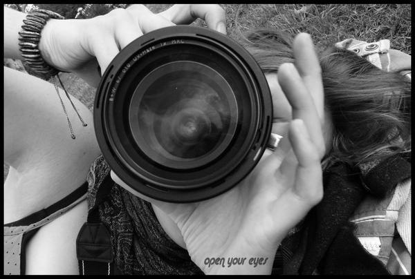 open your eye by littlegreencow