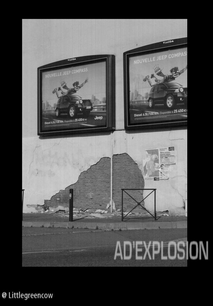 Ad'explosion by littlegreencow