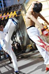 Tekken: Law vs Kazuya