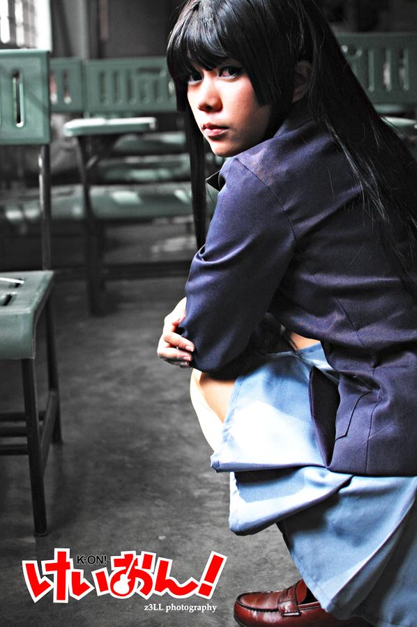 K-ON: Mio Akiyama II by z3LLLL