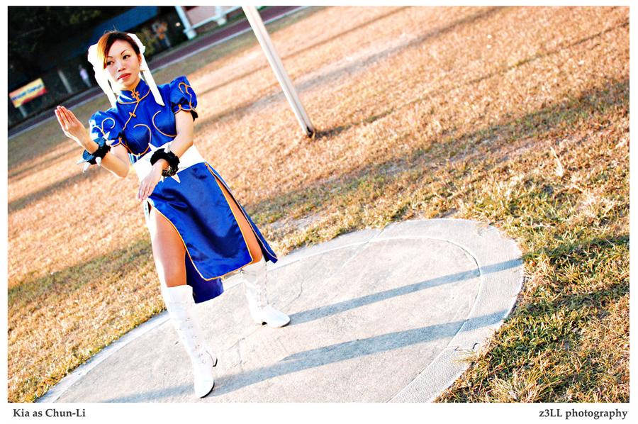 Street Fighter: Chun-Li by z3LLLL