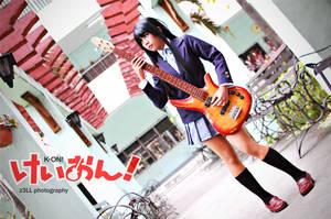 K-ON: Mio Akiyama III by z3LLLL
