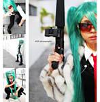 Vocaloid : Mafia Miku by z3LLLL