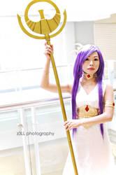 Saint Seiya: Goddess Athena by z3LLLL