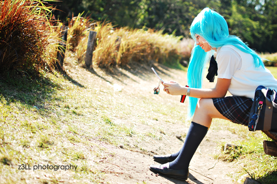 Hatsune Miku: Smile by z3LLLL